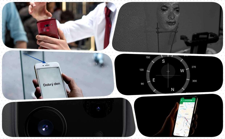 Trong một chiếc smartphone có những cảm biến nào?
