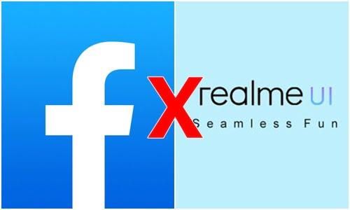 Điện thoại realme giật lag sau khi cập nhật Realme UI, nguyên nhân xung đột facebook
