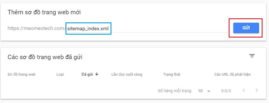 cach tao sitemap va gui sitmap len google cho website wordpress