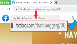 sửa đổi địa chỉ facebook cá nhân