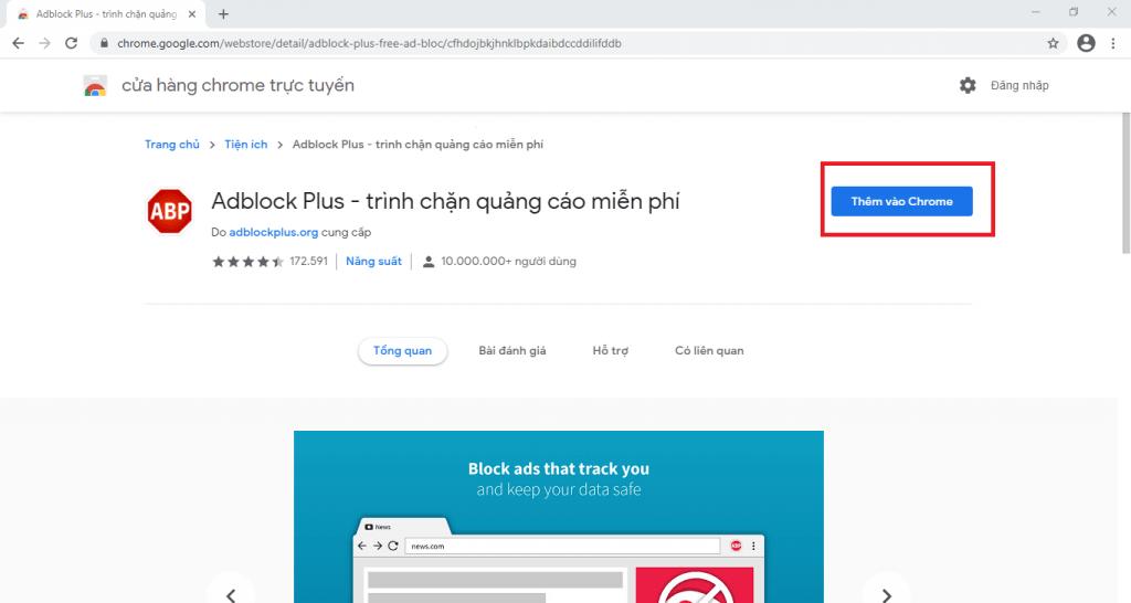 cách chặn quảng cáo khi xem youtube lướt web